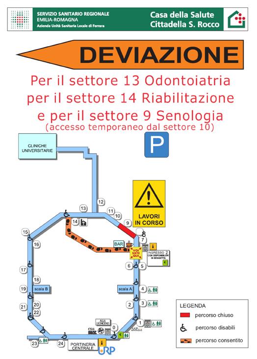 Ferrara Sanita Cittadella San Rocco Inizia La Seconda Fase Dei Lavori Piuweb